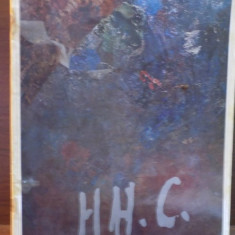 HENRI H. CATARGI, PICTURA, ACUARELA, DESEN, MAI 1973 - Carte Istoria artei