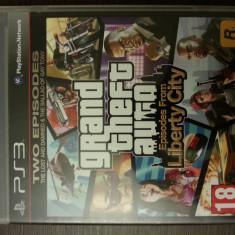 Joc PS3 Grand Theft Auto Liberty City Two Episodes - Jocuri PS3 Rockstar Games