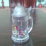 Halba de bere BMF cu capac de zinc