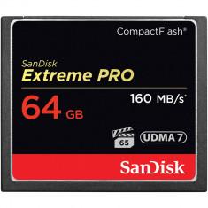 CF SanDisk Extreme Pro 64GB 1067X 160 MB/s UDMA7 Compact Flash FOTO VIDEO DSLR - Card Compact Flash