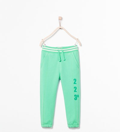 NOI, DE FIRMA → Pantaloni trening, bumbac, ZARA → baieti   7—8 ani   122—128 cm