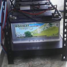 Bank de baterii pentru sistem solar controller MPPT 12v sau 24v