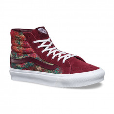 Shoes Vans Sk8-Hi Lite Italian Weave Port Royale