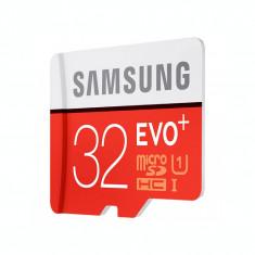 Card de memorie Samsung Evo Plus Micro SDHC 32 GB Clasa 10 UHS-1 U1 Adaptor SD