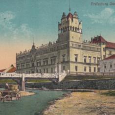 AIUD, PREFECTURA JUDETULUI ALBA, CIRC. 1929, EDIT. ROMANUL, AIUD - Carte Postala Transilvania dupa 1918, Circulata, Printata