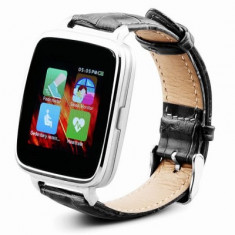 Smart Watch Oukitel A28 Silver Bluetooth ceas inteligent puls, Otel inoxidabil, watchOS