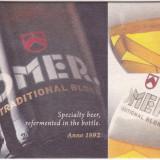 Suport de pahar / Biscuite OMER - Cartonas de colectie