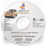 Land Rover Freelander II 2 2007, 2010 Workshop Service Manual + Shema Electrica - Manual auto
