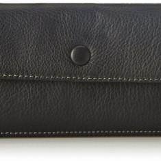 Fossil Blake negru portofel dama nou 100% original. Livrare rapida., Cu inchizatoare