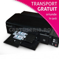 Imprimanta printare card PVC cu accesorii - Imprimanta inkjet Epson