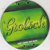 Suport de pahar / Biscuite GROLSCH - Cartonas de colectie