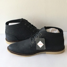 Ghete / Bascheti / Adidasi Pull & Bear bleomarin ORIGINALI Stoc Limitat - Ghete barbati, Marime: 41, Culoare: Albastru