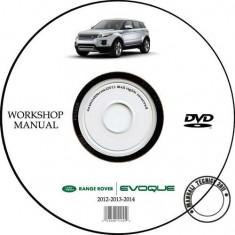 Range Rover Evoque 2011 - 2014 Service Manual + Schema Electrica - Manual auto