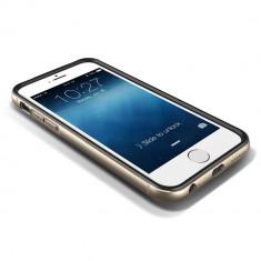 Bumper metalic 4, 7 inch din aluminiu pentru Iphone 6 auriu - Bumper Telefon