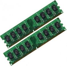 Kit memorie ram 2GB DDR2 (2x1GB module identice), 800MHz, factura+garantie!, Dual channel