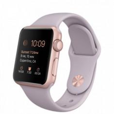 Smartwatch Apple Watch Sport 38mm Rose Gold Aluminum Case Lavender Sport Band