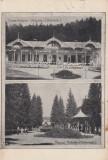 VALCELE , COVASNA , PARCUL SI COUR SALON CAFE - RESTAURANT , CIRCULATA 1927, Printata