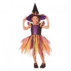 Costum de carnaval Vrajitoarea Curcubeului M (5-7 ani/max 132 cm) Rubies