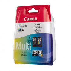 Kit cartuse originale canon PG540 CL541 negru si color - Cartus imprimanta
