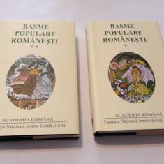 BASME POPULARE ROMANESTI,2 VOL,EDITIE DE LUX,RF12/2, Alta editura