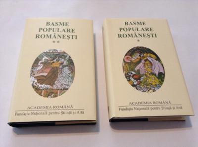 BASME POPULARE ROMANESTI,2 VOL,EDITIE DE LUX,RF12/2 foto