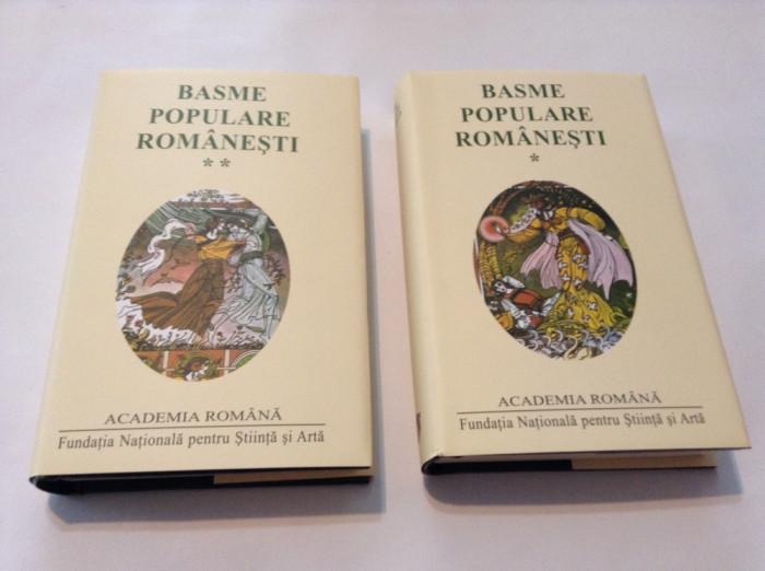 BASME POPULARE ROMANESTI,2 VOL,EDITIE DE LUX,RF12/2
