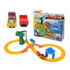 Set de joaca Thomas Salty and Crankys Cargo Drop Mattel - Masinuta Mattel, Plastic
