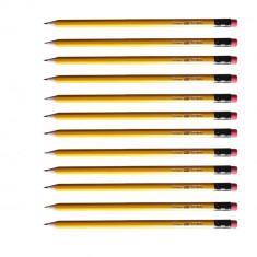 Set 12 creioane grafit HB