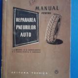 Manual pentru repararea pneurilor auto / C42P - Carti auto