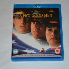 Film - A Few Good Men [1 Disc Blu-Ray], Release UK Original - Film actiune columbia pictures, Romana