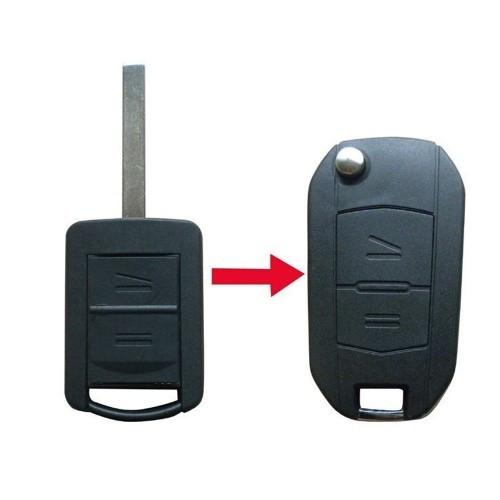 Carcasa cheie Telecomanda Auto Conversie Briceag 2 Butoane Opel