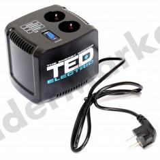 Stabilizator de tensiune TED Electric 500VA Servomotor - Stabilizator tensiune