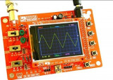 OSCILOSCOP DIGITAL LCD COLOR 2,4 inch sigilat ( kit sau montat ), portabil   !