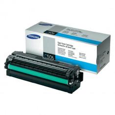 Toner CLT-C506L cyan original Samsung CLTC506L de capacitate mare - Cartus imprimanta