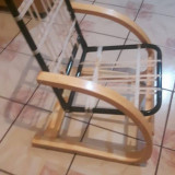 Scaun din lemn de stejar, Scaune, Art Modern