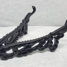 Clama pentru par, tip fluture, culoare neagra