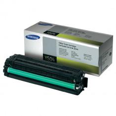 Toner CLT-Y504S yellow original Samsung CLTY504S - Cartus imprimanta