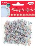 Margele decorative alfabet