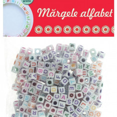 Margele decorative alfabet