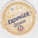 Suport de pahar / Biscuite ERDINGER - Cartonas de colectie