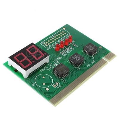 Tester PCI cu 2 digiti ( diagnoza placa de baza, motherboard PC ),nou ,sigilat ! foto