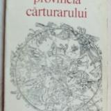 VASILE IGNA - PROVINCIA CARTURARULUI (VERSURI, 1975) [coperta MIRCEA BACIU] - Carte poezie