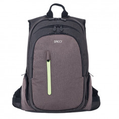 Ghiozdan laptop Daco cu trei compartimente - Geanta laptop