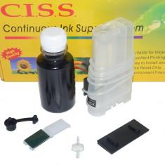 Sistem de alimentare continua CISS Universal pentru culoarea neagra - Cartus imprimanta