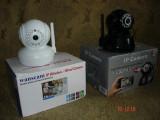 CAMERA IP wifi WEBCAM noua, miscare PTZ, PAN, TILT, infrarosu, intercom audio !