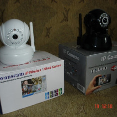 CAMERA IP wifi WEBCAM noua, miscare PTZ, PAN, TILT, infrarosu, intercom audio !