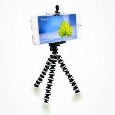Trepied FLEXIBIL cu suport pentru TELEFON aparat foto video DSLR samsung iPhone