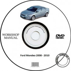 Ford Mondeo 2008 - 2010 Workshop SERVICE MANUAL + Schema Electrica - Manual auto