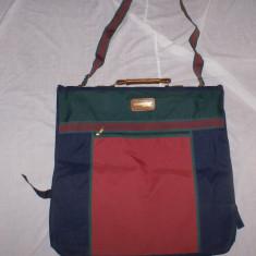 Geanta de transportat costume / Husa Costume / Costum din panza, Marime: Masura unica, Culoare: Multicolor