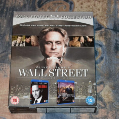 Film - Wall Street Collection [2 Filme - 2 Discuri Blu-Ray], Release UK Original - Film Colectie Altele, Engleza